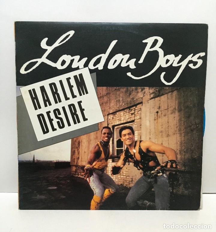 LONDON BOYS – I'M GONNA GIVE MY HEART - 1986 (Música - Discos de Vinilo - Maxi Singles - Electrónica, Avantgarde y Experimental)