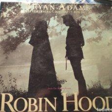 Discos de vinilo: ROBIN HOOD BRYAN ADAMS MAXISINGLE. Lote 222756363