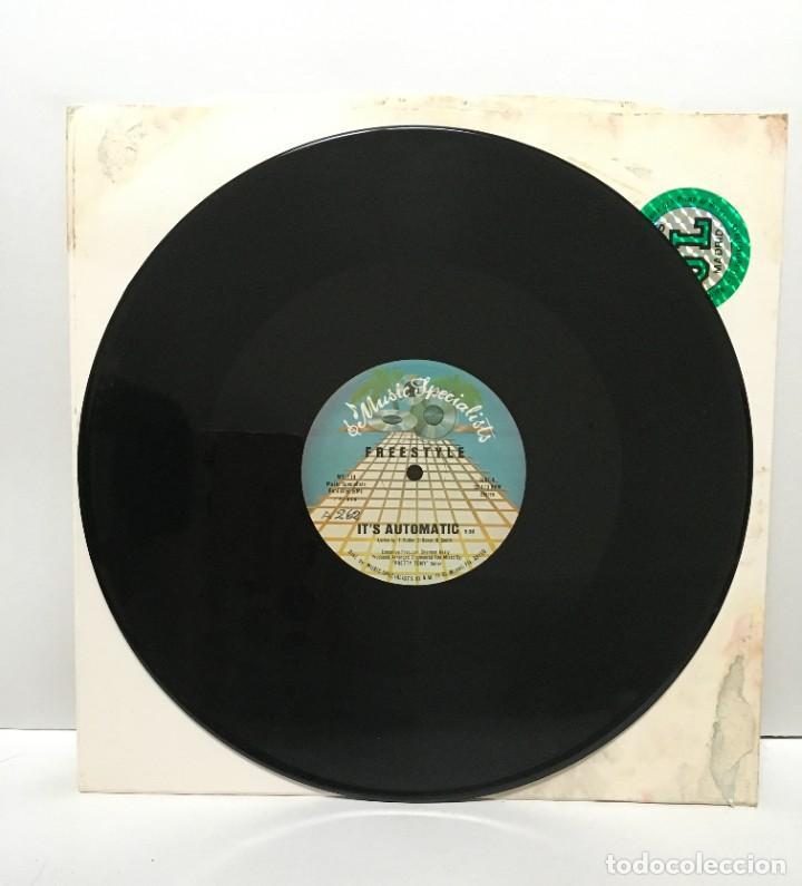 FREESTYLE – IT'S AUTOMATIC - 1986 (Música - Discos de Vinilo - Maxi Singles - Electrónica, Avantgarde y Experimental)