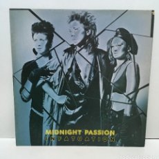 Discos de vinilo: MIDNIGHT PASSION ?– INFATUATION - 1986. Lote 222763512