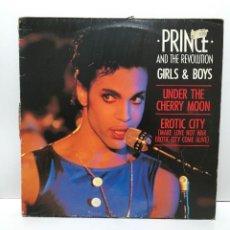 Discos de vinilo: PRINCE AND THE REVOLUTION – GIRLS & BOYS - 1986. Lote 222768903