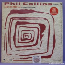 Discos de vinilo: PHIL COLLINS - (SUSSUDIO / DON'T LOSE MY NUMBER / YOU CAN'T HURRY LOVE) / TAKE ME HOME - MAXI SG 12'. Lote 222786351