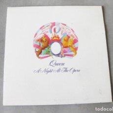 Discos de vinilo: LP DE QUEEN EDICIÓN ESPAÑOLA - A NIGHT AT THE OPERA - EMI 1 J 064-97176 - 1976. Lote 222790790
