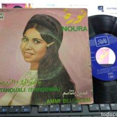 Discos de vinilo: NOURA SINGLE YA TEHOUALI ESPAÑA 1970. Lote 222792221