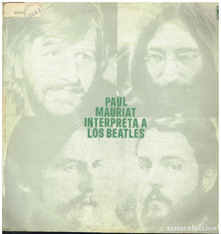 PAUL MAURIAT - PAUL MAURIAT INTERPRETA A LOS BEATLES - LP 1972 (Música - Discos - LP Vinilo - Orquestas)