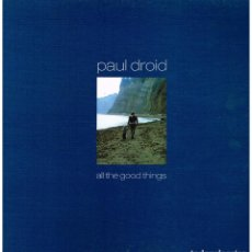 Discos de vinilo: PAUL DROID - ALL THE GOOD THINGS - MAXI SINGLE 2000 - MUY BUEN ESTADO. Lote 222792367