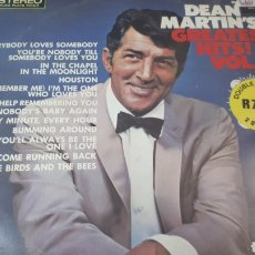 Discos de vinilo: DEAN MARTIN S GREATEST HITS VOLUME 2 DOBLE LP. Lote 222800473