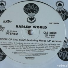 Discos de vinilo: HARLEM WORLD - CALI CHRONIC / CREW OF THE YEAR - 1999. Lote 222802471