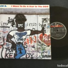 "Discos de vinilo: JACK B. ‎– I WANT TO BE A STAR IN THE DDR - 12"" GERMANY. Lote 222803021"