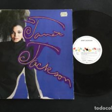 "Discos de vinilo: JANET JACKSON ?– WHAT HAVE YOU DONE FOR ME LATELY - 12"" GERMANY. Lote 222806573"