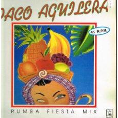 Discos de vinilo: PACO AGUILERA - RUMBA FIESTA MIX - MAXI SINGLE 1991. Lote 222811402