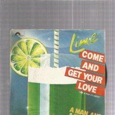 Discos de vinilo: LIME. Lote 222816201