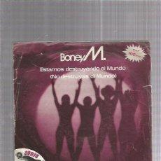 Discos de vinilo: BONEY M. Lote 222816371