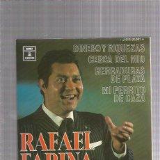 Discos de vinilo: RAFAEL FARINA DINERO Y RIQUEZAS. Lote 222823422
