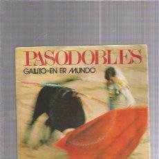Discos de vinilo: PASODOBLES GALLITO. Lote 222824423