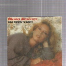 Discos de vinilo: MARIA JIMENEZ. Lote 222824482