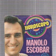 Discos de vinilo: MANOLO ESCOBAR. Lote 222824541