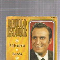 Discos de vinilo: MANOLO ESCOBAR. Lote 222825325