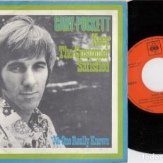 Discos de vinilo: GARY PUCKETT ( THE UNION GAP ) - KEEP THE CUSTOMER SATISFIED - SINGLE VINILO EDICION ESPAÑOLA. Lote 222829302