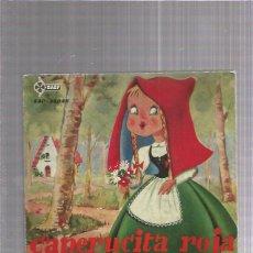 Discos de vinilo: CAPERUCITA ROJA 1961 + REGALO SORPRESA. Lote 222829525