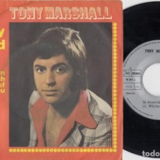 Discos de vinilo: TONY MARSHALL - PRETTY MAID - SINGLE VINILO EDICION ESPAÑOLA. Lote 222829932