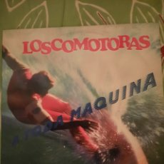 Discos de vinilo: LOSCOMOTORAS. A TODA MÁQUINA. LP. CONTIENE ENCARTE Y CARTA.. Lote 222832032