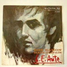 Discos de vinilo: L. E. AUTE. - DON RAMON. (VINILO 45 RPM). Lote 222833350