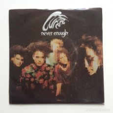 Discos de vinilo: THE CURE – NEVER ENOUGH / HAROLD AND JOE UK 1990. Lote 222834860