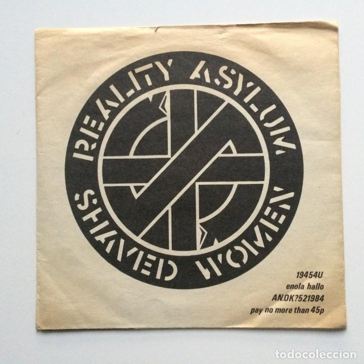 CRASS – REALITY ASYLUM / SHAVED WOMEN UK 1979 (Música - Discos - Singles Vinilo - Punk - Hard Core)