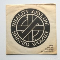 Discos de vinilo: CRASS – REALITY ASYLUM / SHAVED WOMEN UK 1979. Lote 222835803