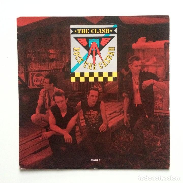 THE CLASH – ROCK THE CASBAH / MUSTAPHA DANCE UK 1991 (Música - Discos - Singles Vinilo - Punk - Hard Core)