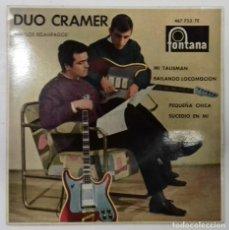 Discos de vinilo: DUO CRAMER- MI TALISMAN- EP- ED. ESPAÑOLA- 1963. Lote 222837500