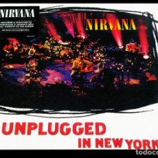 Discos de vinilo: V1309 - NIRVANA. UNPLUGGED IN NEW YORK. LP VINILO NUEVO PRECINTADO. Lote 222839782