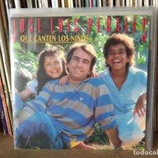 Discos de vinilo: JOSE LUIS PERALES, QUE CANTEN LOS NIÑOS. Lote 222841316