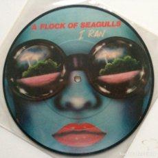 Discos de vinilo: A FLOCK OF SEAGULLS – I RAN / PICK ME UP UK 1982. Lote 222841352
