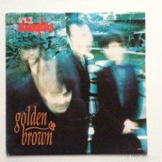 Discos de vinilo: THE STRANGLERS – GOLDEN BROWN / YOU UK 1991. Lote 222842028