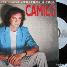 Discos de vinilo: CAMILO SESTO ME LO ESTAS PONIENDO DIFICIL. Lote 222842053