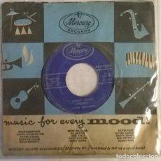 Discos de vinilo: JIMMY EDWARDS. LOVE BUG CRAWL/ HONEY LOVIN'. MERCURY, UK 1957 SINGLE. Lote 222842095