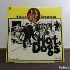 Discos de vinilo: VINILO LP. STEFAN GROSSMAN - HOT DOGS. 33RPM. EDICIÓN ESPAÑOLA. Lote 222843840