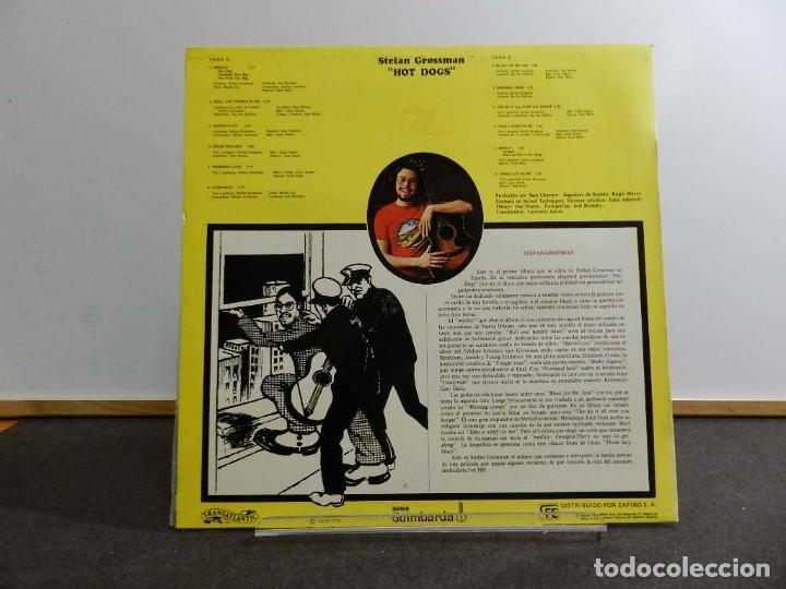 Discos de vinilo: VINILO LP. STEFAN GROSSMAN - HOT DOGS. 33RPM. EDICIÓN ESPAÑOLA - Foto 2 - 222843840