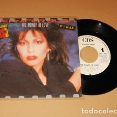 Discos de vinilo: JENNIFER RUSH - THE POWER OF LOVE - SINGLE - 1984. Lote 222844927