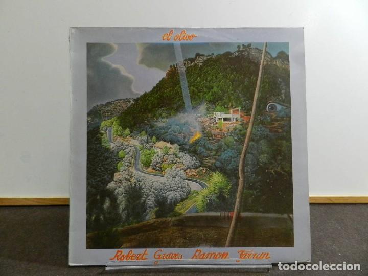 VINILO LP. RAMÓN FARRÁN & ROBERT GRAVES - EL OLIVO. 33RPM. EDICIÓN ESPAÑOLA. (Música - Discos - LP Vinilo - Country y Folk)