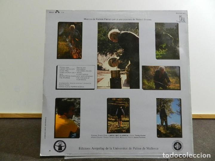 Discos de vinilo: VINILO LP. RAMÓN FARRÁN & ROBERT GRAVES - EL OLIVO. 33RPM. EDICIÓN ESPAÑOLA. - Foto 2 - 222845107