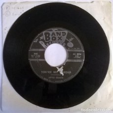 Discos de vinilo: LITTLE GRACIE. YOU'RE MY TARZAN/ SIXTEEN TEENS. BAND BOX, USA 1961 SINGLE. Lote 222846540
