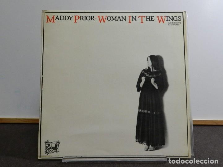 VINILO LP. MADDY PRIOR - WOMAN IN THE WINGS. EDICIÓN ESPAÑOLA. (Música - Discos - LP Vinilo - Country y Folk)