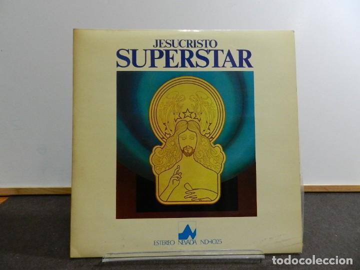 VINILO LP. VARIOS & ANDREW LLOYD WEBBER AND TIM RICE - JESUCRISTO SUPERSTAR. EDICIÓN ESPAÑOLA. (Música - Discos - LP Vinilo - Bandas Sonoras y Música de Actores )