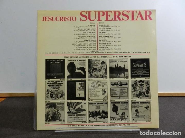 Discos de vinilo: VINILO LP. VARIOS & ANDREW LLOYD WEBBER AND TIM RICE - JESUCRISTO SUPERSTAR. EDICIÓN ESPAÑOLA. - Foto 2 - 222847187
