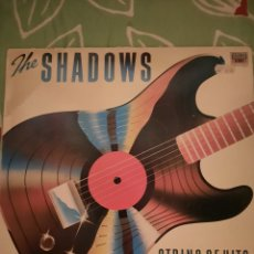 Discos de vinilo: THE SHADOWS. STRING OF HITS. LP.. Lote 222847888
