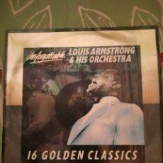 Discos de vinilo: LOUIS ARMSTRONG. UNFORGETTABLE. LP.. Lote 222849205