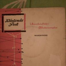 Discos de vinilo: KLINGENDE POST. CATERINA VALENTE . SINGLE.. Lote 222850920